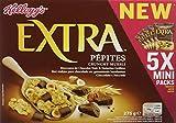 Kellogg's Extra Mini Chocolat 5 x 55 g - Lot de 5