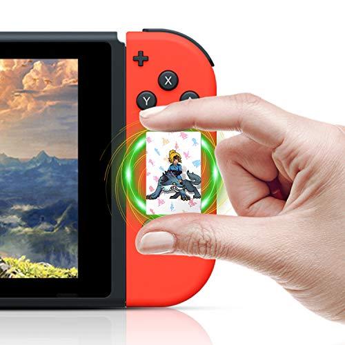 TPLGO NFC Karten für die Legend of Zelda Breath of the Wild Switch Wii U, 22 Stück mit Crystal Case -