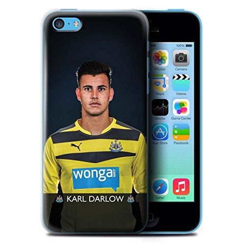 Officiel Newcastle United FC Coque / Etui pour Apple iPhone 5C / Haïdara Design / NUFC Joueur Football 15/16 Collection Darlow