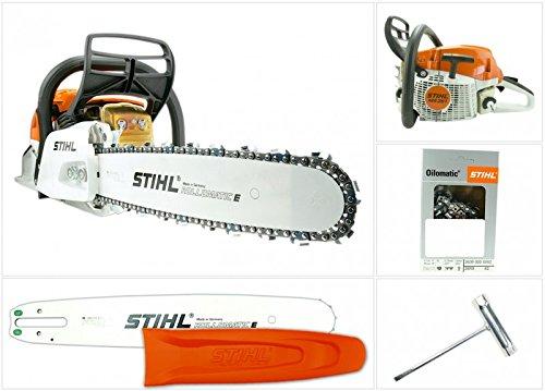 STIHL MS 261 - Sega a catena/ Motosega con lunghezza di taglio 37cm/15' + catena di 1,6mm
