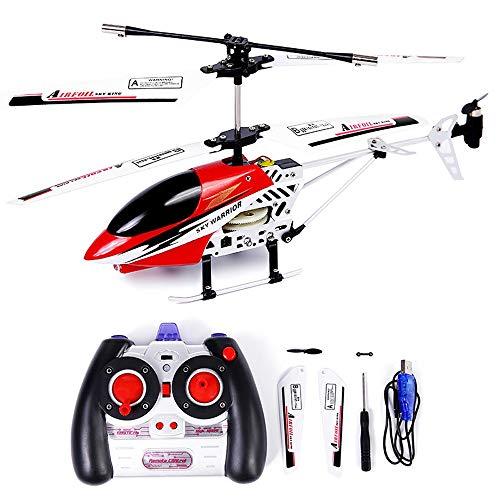 Ycco Mini Hobby RC Radio Flugzeug Drone-Spielzeug for Kinder Teenager Geschenke Crash-Widerstand MetalGyroRC Indoor Outdoor Flugzeug Kinder Weihnachten Flugzeug-Extra Stabilität Fern Hubschrauber Steu