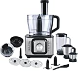 #2: Inalsa INOX 1000-Watt Food Processor (Black/Silver)