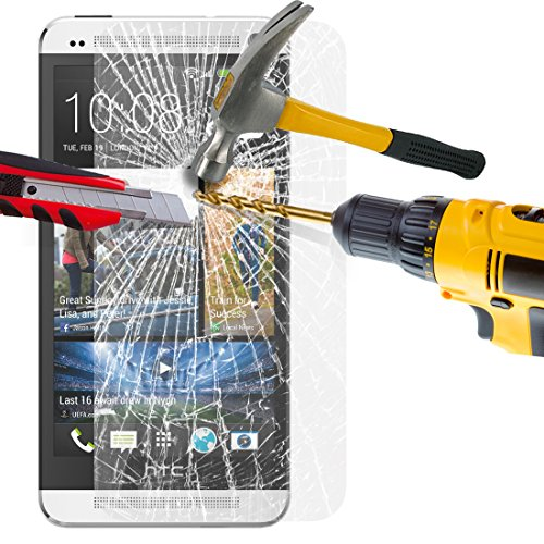 htc-one-m7-tempered-glass-crystal-clear-lcd-screen-protector-guard-polishing-cloth-svl37-by-shukan-t