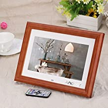 "Andoer 10"" Marco Digital de Fotos Madera MP3 MP4 Movie Player con Remoto Control Navidad Regalo"