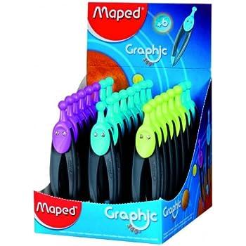 MAPED Compas Graphic 360 degrés POUR MINE 2MM Coloris assortis
