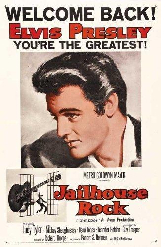 JAILHOUSE ROCK POSTER Film (68,6x 101,6cm-69cm x 102cm) (1957) (Stil B) durch Dekorative Wand Poster - Jailhouse Rock Poster