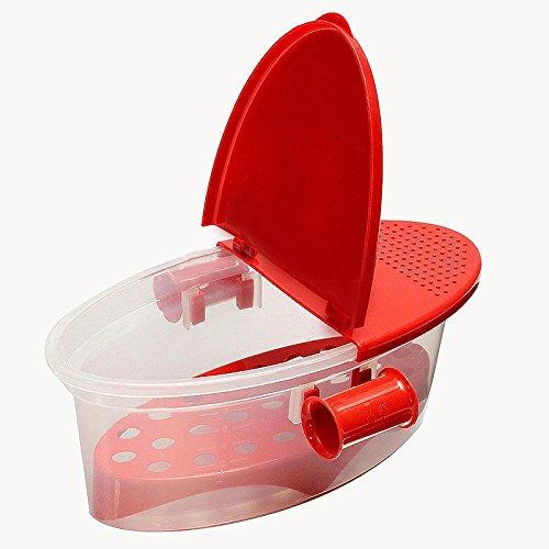 MagiDeal Mikrowelle Nudelkocher Pasta Boot Kocher Spaghetti Kochen Werkzeug Gemüse Küchenbox