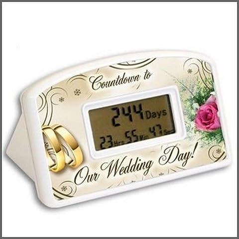 BigMouth Inc Countdown Timer - Wedding Countdown