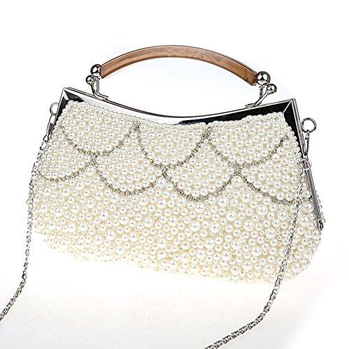 borsa a mano in rilievo/ borsa di moda strass partito/ borsa da sera delle signore-C C