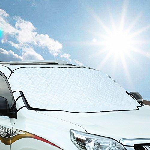 Freeauto-parabrezza-neve-Protector-parasole-Protector-adatta-alla-maggior-parte-di-auto-cotone-spessa-protetto