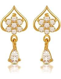Joyalukkas Impress Collection 22k Yellow Gold Stud Earrings for Women