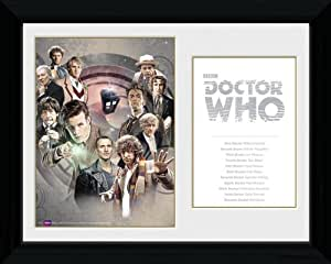 Doctor Who - All The Doctors Framed Mini Poster - 35.5x45.5cm