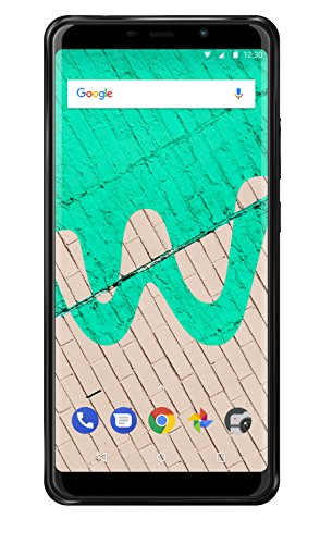 Wiko View Max Smartphone (15,2 cm (5,99 Zoll) Display, 32GB interner Speicher, Android 8.1 Oreo) anthrazit