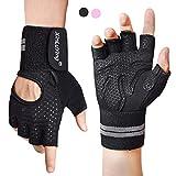 Fitself Fitness Handschuhe für Herren Damen Trainingshandschuhe mit Handgelenkschutz für...