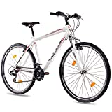 28' Zoll MOUNTAINBIKE FAHRRAD KCP MTB ONE UNISEX mit 21 Gang weiss