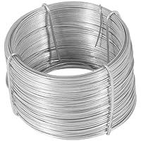 Greengeers 95600 Rouleau de fil de fer galvanise 50 Mètres