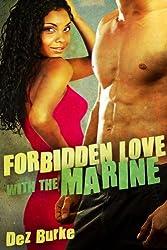 Forbidden Love with the Marine (BWWM Interracial Romance) (English Edition)