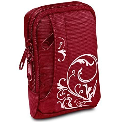 BAXXTAR MANGA I Digital Camera Bag Case (Red/White)