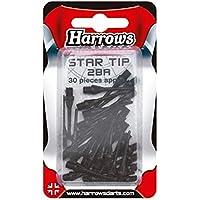 30puntas Nylon Star Tip 2ba negro