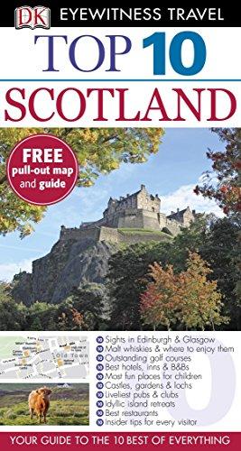 DK Eyewitness Top 10 Travel Guide: Scotland [Idioma Inglés]