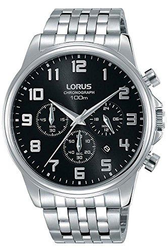 Lorus orologio cronografo quarzo uomo con cinturino in acciaio inox rt333gx9