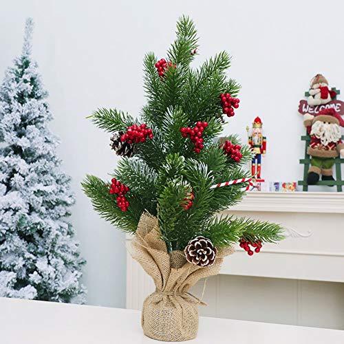 Árbol de Navidad, Árbol de Navidad de PVC Artificial Abetos Árbol de...