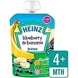 Heinz Lisse Myrtille Et Banane 4-36 Mths 100G
