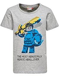 LEGO Nexo Knights Teo 201-T-Shirt, Camiseta para Niñas