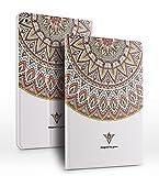 iPad PU Leder Tasche Smart Cover Folio iPad Case Hülle Tasche Schutzhülle Etui für Apple (iPad Air/iPad 5, Totem)
