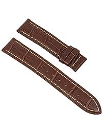 Jaguar para banda Damas relojes de pulsera piel marrón para cierre desplegable. Compatible con J624