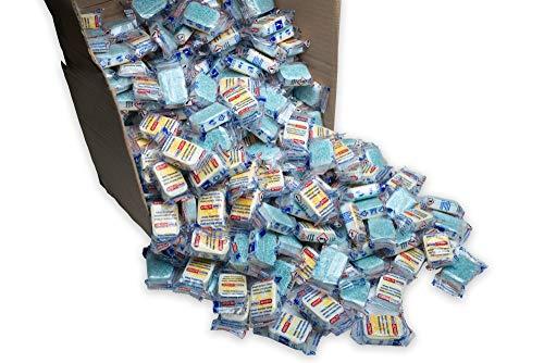 20 kg (1000 Stück) Spülmaschinentabs 14 in 1, Tabs in normaler Folie, A-Ware Spültabs (kein Bruch), deutsche Markenware für jede Spülmaschine geeignet