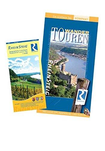 Rheinsteig WanderTOUREN-TopSet/Ein schöner Tag kompakt. Update 2010. Buch mit Topografischer Wanderkarte des LVermGeo. 20 Tages-, 40 Kurztouren. 320 km Wanderspaß.  Höhenprofile, GPS-Daten.