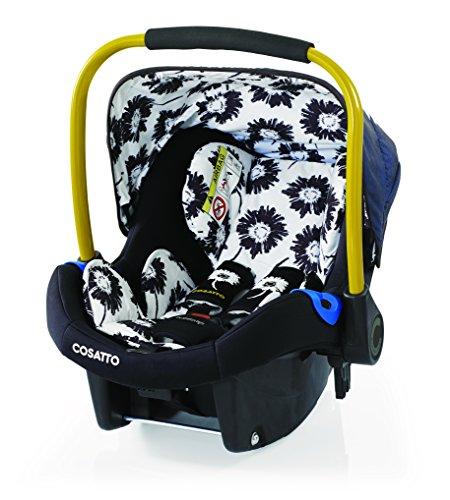 Preisvergleich Produktbild Cosatto Port - Baby Autositz 0-13 kg - Sicherheit + Schutz Für Die Kleinsten - Babyschale / Kindersitz Gruppe 0 - Erstausstattung Für Isofix + 3 Punkt Gurt, Sunburst