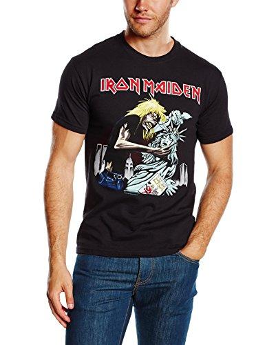 Iron Maiden Herren, T-Shirt, New York, GR. Medium (Herstellergröße: Medium), Schwarz (Black) (Black Beast Shirt)