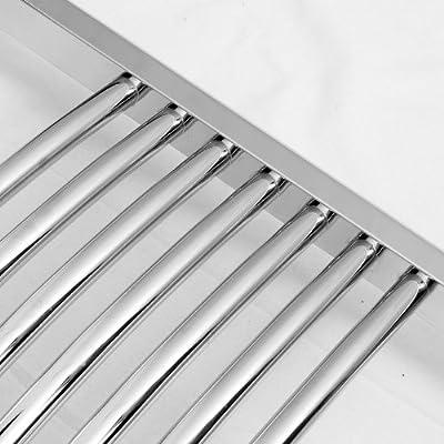 Heizkörper Badheizkörper Handtuchwärmer rein elektrisch ELEKTRO chrom gebogen alle Größen von TREL-CR bei Heizstrahler Onlineshop
