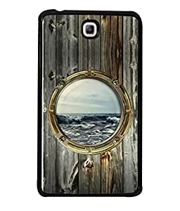 99Sublimation Designer Back Case Cover for Samsung Galaxy TAB3 (ship sea water war waves boat )