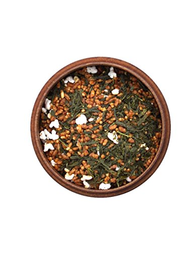 Japanischer Grüner Tee Genmaicha Yukihime, BIO-zertifiziert, Premium. 50 g, lose, nicht aromatisiert. Aus kleinem Tee-Garten Präfektur Yame/Fukuoka. Feinster japanischer Sencha, Natur-Reis, geröstet und gepufft. Mild mit Röst-Aromen
