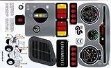 Aufklebersatz für Feuerwehr Unimog