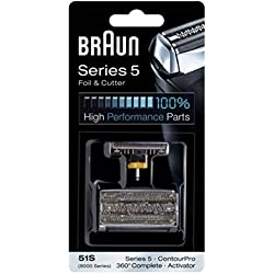 Braun - 81253276 - Grille 51S - Recharge grille pour rasoirs Series 5 / 360° Complete / Activator
