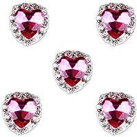 El Arte Del Clavo 10pcs Grandes Encantos Brillo De Diamantes De Imitación De Manicura Consejos De
