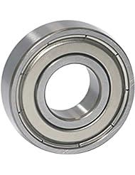 EZO - Roulement à billes à gorge profonde rangée simple en acier inoxydable 6001 ZZ (12x28x8)
