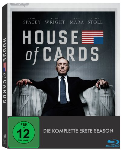 House of Cards - Season 1 [Blu-ray] (Bad-zeit-grenze)