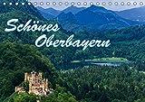 Schönes Oberbayern (Tischkalender 2019 DIN A5 quer): Oberbayerns Seen und Berge (Monatskalender, 14 Seiten ) (CALVENDO Orte)