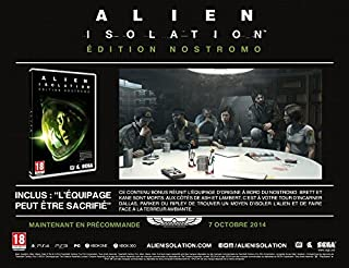 Alien : Isolation - édition nostromo (B00HQZ0BZQ) | Amazon price tracker / tracking, Amazon price history charts, Amazon price watches, Amazon price drop alerts