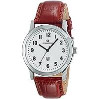 Maxima Analog White Dial Men's Watch-44688LMGI