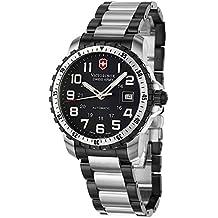 Victorinox Alpnach - Reloj analógico de caballero automático con correa de acero inoxidable multicolor - sumergible a 100 metros