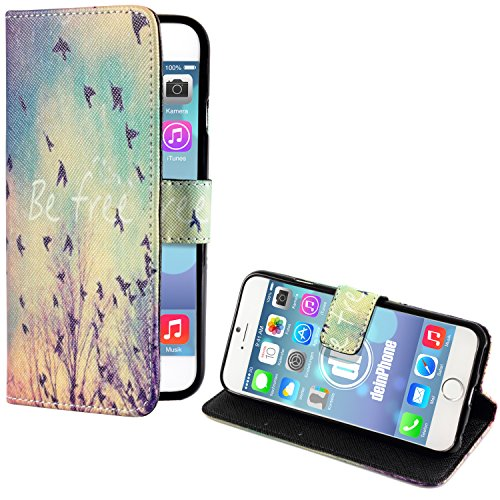 deinPhone Apple iPhone 6(4.7) Case Be free, con uccelli