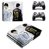 Playstation 4 Pro + 2 Controller Aufkleber Schutzfolien Set - Fifa 18 (2) /PS4 P