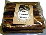 "6"" Free Range Bully Pizzle Sticks 50 pieces"
