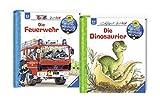 Ravensburger Junior Bücher Set - Wieso? Weshalb? Warum? Die Feuerwehr und Die Dinosaurier